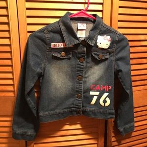 Hello Kitty Denim Jean Jacket